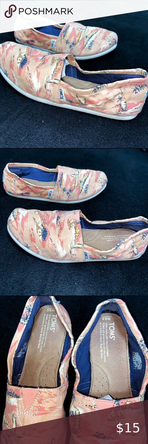 Toms Shoes 80% OFF!> Ocean Surfside TOMS Toms Shoes Size 8.5 Ocean Surfside Design Very Clean Condition Smoke Free  Pet Free Clean Home Fast Shipping Toms Shoes Flats  Loafers #Toms #Tomsshoes #shoes #style #Accessories #shopping #styles #outfit #pretty #girl #girls #beauty #beautiful #me #cute #stylish #design #fashion #outfits #diy #design