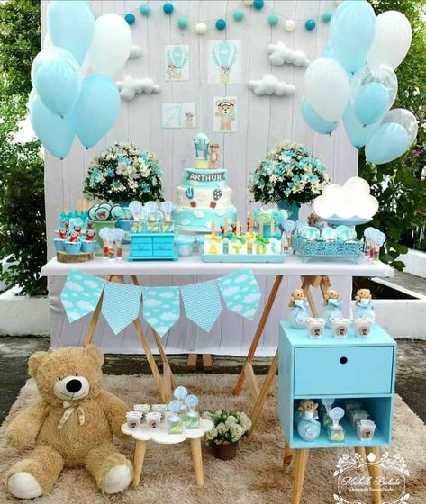 Ideas Baby Shower Nino Ositos.Ideas Que Podemos Usar Para Un Baby Shower Con La Tematica