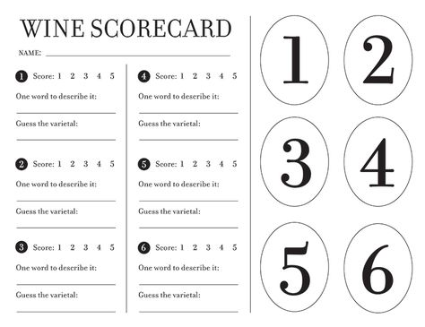 image about Wine Tasting Games Printable called Pinterest