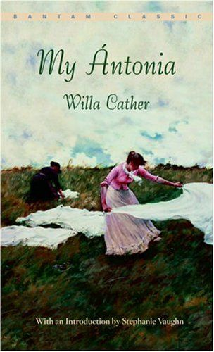 You can feel the spirit of the plains and those remarkable women who settled it in every perfect word that Willa Cather writes.
