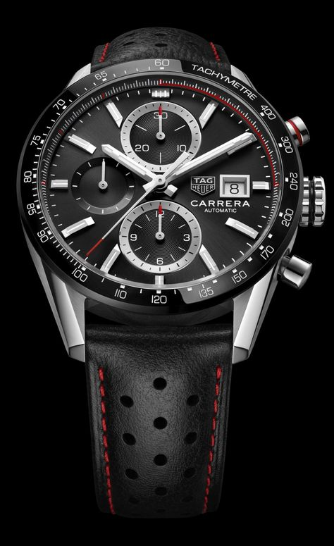 First Look- TAG Heuer Carrera Calibre 16 Ceramic Bezel 41mm (Ref. CBM2110, CBM2111) | The Home of TAG Heuer Collectors