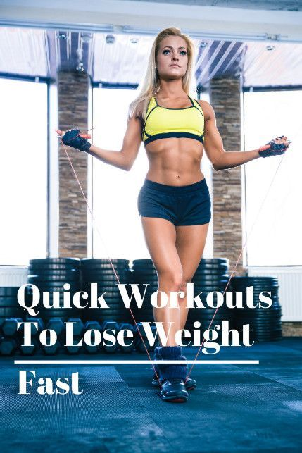 Quick Workouts To Lose Weight Fast Morning Workout Workout To
