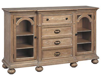Ollesburg Dining Room Server Decor Example Dining Room Storage