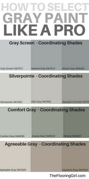 What Are The Most Popular Shades Of Gray Paint The Flooring Girl Shades Of Grey Paint Paint Colors For Home Grey Paint Colors