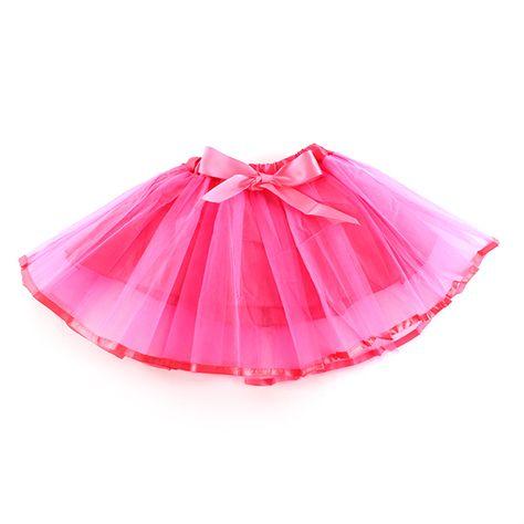 f11ba1cf2 Kids Girl Bowknot Tutu Skirt Baby Tulle Ballet Pettiskirt Dancewear  Multi-color