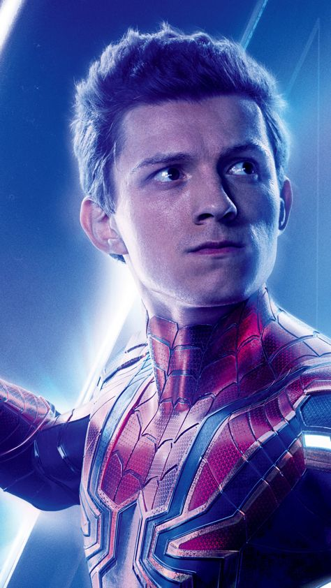 Spiderman, superhero, movie, Avengers: infinity war, 720x1280 wallpaper