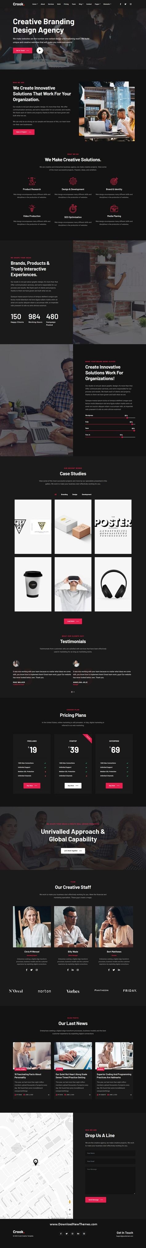 Business - One and Multi-Page Multipurpose Template