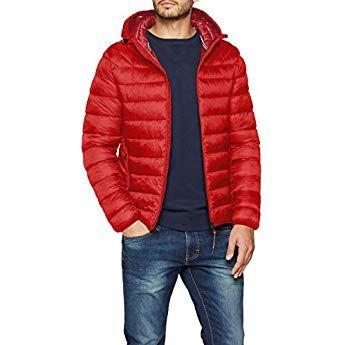 Napapijri Aerons Hood Herren Jacke,Rot (Pop Red R41), Medium