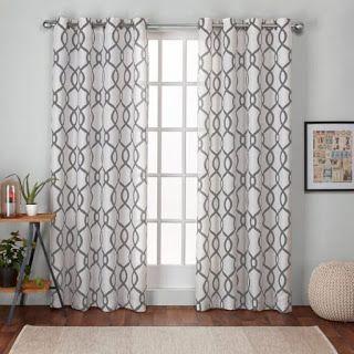 Grain Sack Inspired Curtains Country Design Style Diy Curtains Drop Cloth Curtains Farmhouse Style Curtains