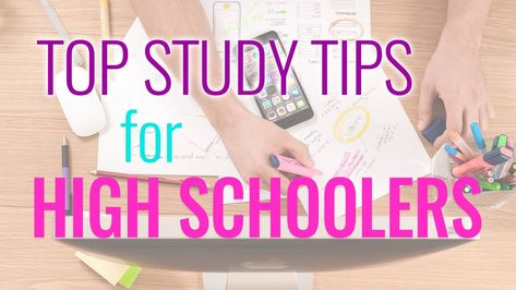 Top Study Tips for High School 2019
