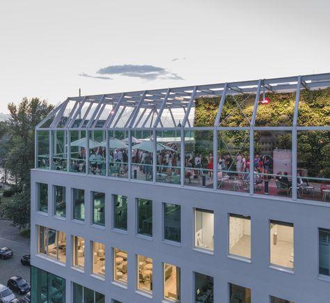 Gallery Of Concordia Design Wroclaw Mvrdv 20 In 2020 Wroclaw Wellness Design Garden Canopy