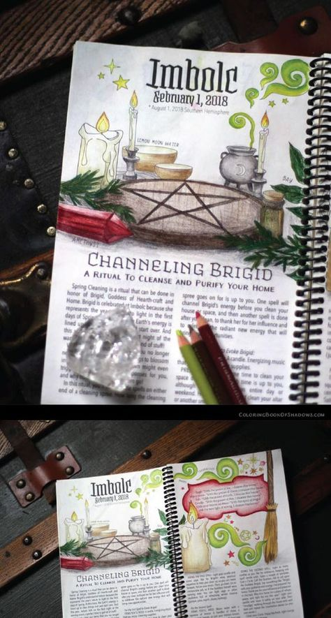 600 Coloring Book Of Shadows Planner For A Magical 2018 Free Images