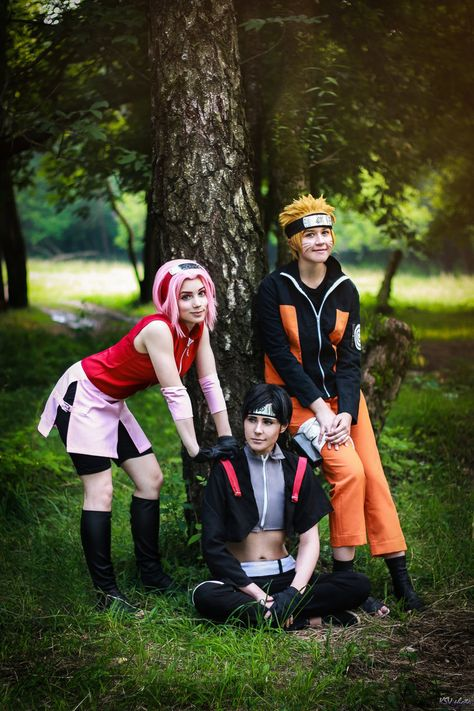 Naruto Sakura Sasuke Sai by Perevinkl on DeviantArt