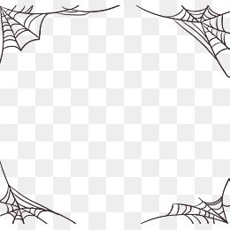 Vector Png Spider Web Hand Painted Spider Web Spider Border Halloween Halloween Webs Halloween Vector Cobwe Computer Graphics Graphic Resources Vector Graphics