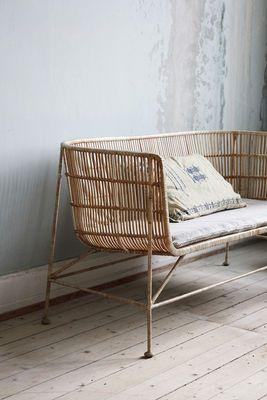 House Doctor Cuun 2 Seater Sofa Natural Wood Made In Design Uk Mobilier De Salon Decoration Naturelle Decoration Vintage