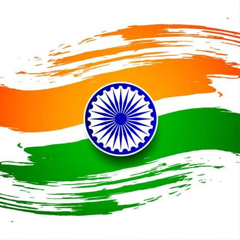 Abstract Indian Flag Theme Background Design Flag Of India Indian
