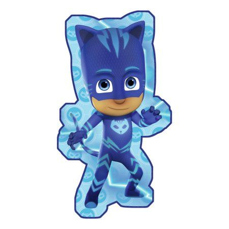 "PJ Masks Catboy Shaped Beach Towel 32"" x 58"""
