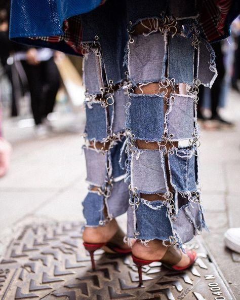 Unknown before Alex Mullins London Fashion Week Mens
