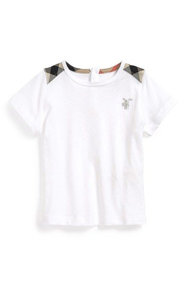 a0c4eb8a1288 Burberry  Mini Lencel  T-Shirt (Baby Boys) available at  Nordstrom ...