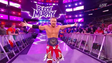 Cruiserweight Champion Buddy Murphy