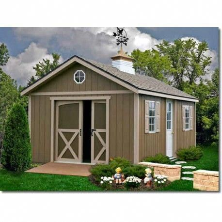 North Dakota 12x16 Wood Storage Shed Kit Northdakota 1216 Storageshedplans Sheddesigns Wood Shed Plans Small Shed Plans Shed Plans