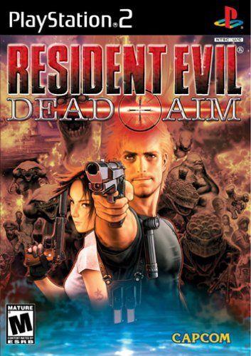 Resident Evil Dead Aim Ps2 Game Resident Evil Game Resident