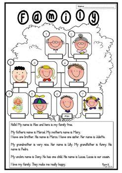My Family Tree Worksheet Printable Family Tree Project Family Tree Worksheet Family Tree For Kids