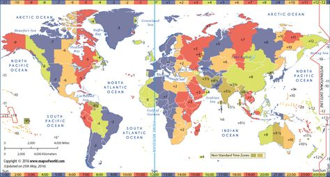 Best Time Zone Map Ideas On Pinterest International Time - Us map colored by time zone