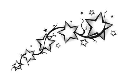 Un tatuaje de cinco estrellas