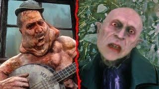 Top 10 Weirdest Red Dead Redemption 2 Characters Rdr2 Easter Eggs