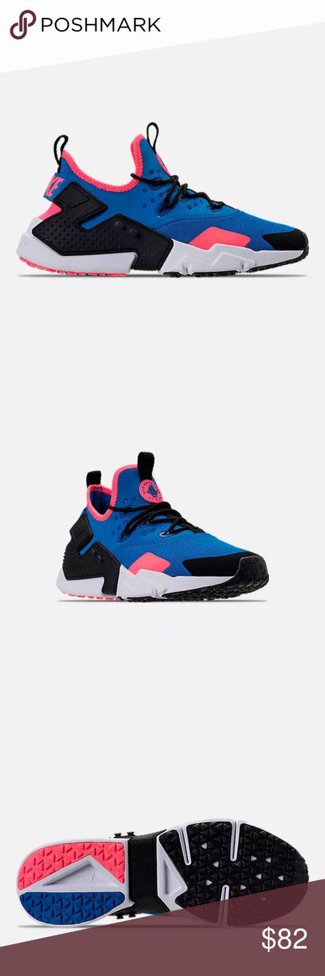 free shipping 9aa43 95212 New Nike Air Huarache Drift Men s Blue SIZE 10.5 Black-White SIZE 10.5  AH7334 403