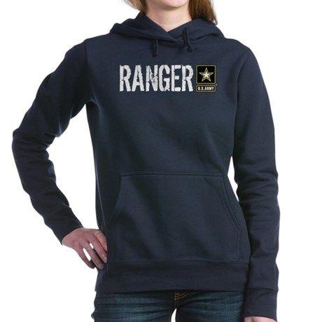 U.S. Army: Ranger (Black) Womens Hooded Sweatshir