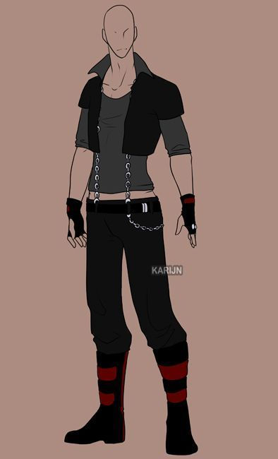 Image Result For Male Anime Outfits Anime Outfits Custom