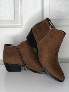 5c76d978c391a Affordable low heel booties for fall on Amazon under $30 ...