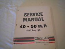 818952a1 engine harness 1992 1994 force 40hp 50hp bayliner force rh pinterest com HP LaserJet Service Manuals HP Laptop User Manual