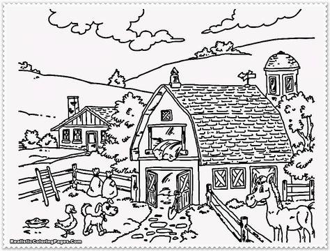 Konabeun Zum Ausdrucken Ausmalbilder Bauernhof 11954