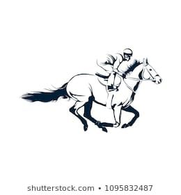Jockey Logo Designs Vector Running Horse Logo Template Horse Riding Horse Artwork Horse Tattoo Design Horse Drawing Images