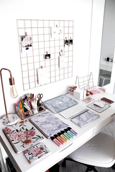 10 idées pour un bureau motivant et inspirant-#bureau #idees #inspirant #motivant #pour