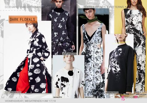 fashion mega trends forecasting prints & Patterns for AW by