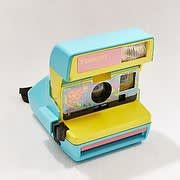 Check out Polaroid Originals Refurbished 600 96 Cam Fresh Blue Instant Camera from Urban Outfitters