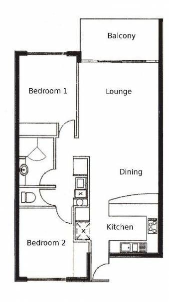 45 Ideas For Apartment Bedroom Floor Plans Beds Apartment Floor Plan 2 Bedroom Apartment Floor Plan Apartment Layout