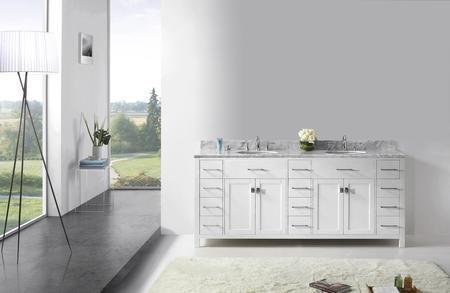 Md 2178 Wmro Wh Nm Caroline Parkway 78 Double Bath Vanity In