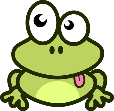 Cartoon Frog Clip Art Frog Cartoon Clip Art Vector Clip Art Online Royalty Free Public Cute Frogs Frog Drawing Art