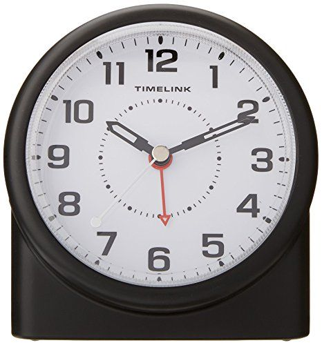 Timelink 88659 Nonticking Alarm Clock With Smartlite Technology Brightness Control Click On The Image For Additional Clock Clocks Fall Back Clock For Kids