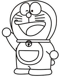 Dibujos Para Colorear Doraemon Easy Cartoon Drawings Creative Drawing Cartoon Drawings