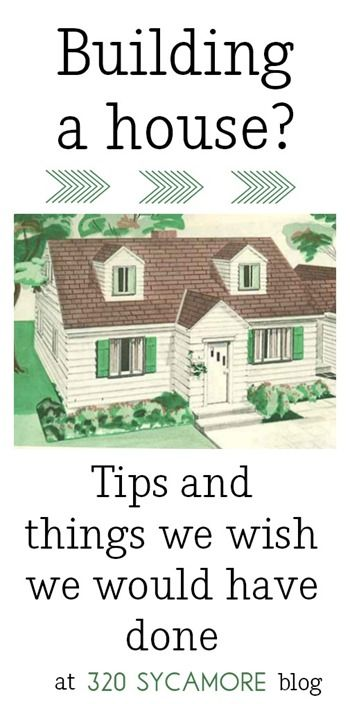 building a house tips Building A House Checklist, New Home Checklist, Home Building Tips, Building Plans, House Building, Building Homes, Building Ideas, New House Plans, Dream House Plans