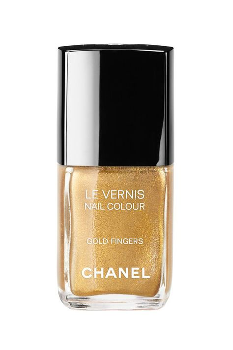 "Chanel ""Gold Fingers""."