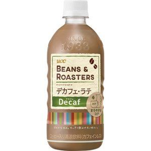 ucc beans roasters ビーンズ ロースターズ デカフェ ラテ 500ml ペットボトル 1ケース 24本 カフェ 開業 デカフェ コーヒー Ucc コーヒー