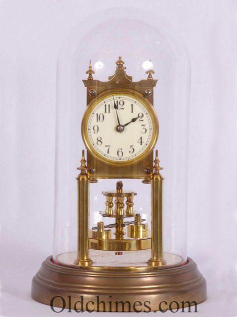 Jam Antik Ini Disebut 400 Day Clock Atau Anniversary Clock Artinya Jam Ini Memiliki Penggerak Satu Tahun Yang H Anniversary Clock Clock Grandfather Clock
