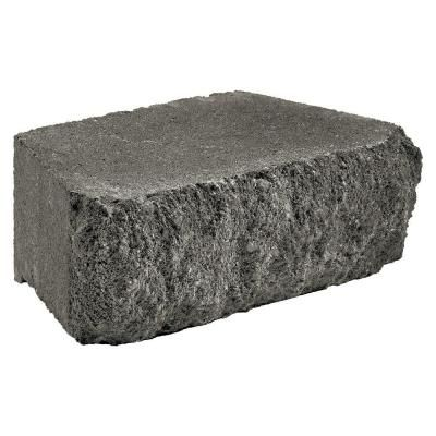 Anchor Carlton 3 In X 10 In X 6 In Charcoal Concrete Retaining Wall Block 12051055 The Home Depot In 2020 Retaining Wall Block Retaining Wall Concrete Retaining Walls